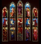 Fig. 6. One of the windows mentioned by Peter Cormack. The east window at St Martin, Brampton (Cumbria), made by Morris & Co. to designs by Sir Edward Burne-Jones and installed 1880–81. ©G. Plumb