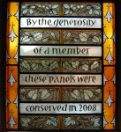 Fig. 3. The new panel designed by Helen Whittaker