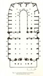 Fig. 2. Diagram showing the position of window 121 in the church