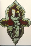 Fig. 7. Musician angel from the Lady Chapel, prior to conservation