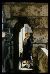 Fig. 2. Jane Hayward at Chartres cathedral in 1979 © Meredith Parsons Lillich.