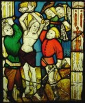 Fig. 1. The Scourging of Christ, fifteenth century, St James church, St Kew, Cornwall © Holy Well Glass Ltd.