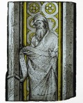 Fig. 10. French (Bourges or Burgundy) or South Lowlands. Prophet from a Throne of Solomon, c. 1390 – 1410. The Metropolitan Museum of Art, the Cloisters Collection, 1995 © The Metropolitan Museum of Art