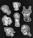 Fig. 4. French (Bourges), Fragments, 13th century. The Metropolitan Museum of Art, Gift of George D. Pratt. 1930 (30.73.259-266) © The Metropolitan Museum of Art.