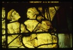 Fig. 5. Detail of the Three Boys from the St Nicholas window. © Virginia Raguin