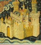 Fig. 7. Late-fourteenth century French Tapestry of the New Jerusalem, Castle of Angers, France, © Castles of the World.