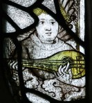 Fig. 6. A musical angel from the same chapel. © YF Pictures.