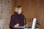 Fig. 5. Professor Dr. Johanna Wanka, Minister for Science, Research and Culture for Brandenburg, speaking at the