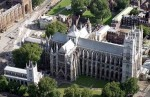 Fig. 1. St Margaret's, Westminster and Westminster Abbey. © NMR.