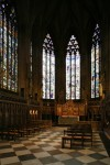 Fig. 1. The Lady Chapel windows © The Dean & Chapter of Lichfield cathedral.