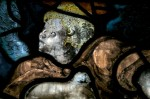 Fig. 2. Detail of a cherub © The Dean & Chapter of Lichfield cathedral.