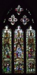 Fig. 1. The Life of the Virgin Window, c.1310-40, window nII, All Saints' Church, North Street, York. © Jasmine Allen.