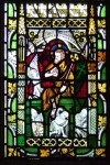 Fig. 2. Christ's Resurrection, c.1310-40, panel 1c, window nII, All Saints' Church, North Street, York. © Jasmine Allen.