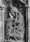 Fig. 8. Sleeping soldier, c.1330, Easter Speulchre, All Saints' Church, Hawton, Nottinghamshire. © Gordon Plumb and reproduced with kind permission.