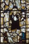 Fig. 9. Christ's Resurrection, c.1480, panel B4, window e1, St Andrew's Church, East Harling, Norfolk.