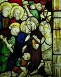 Fig. 4. The Betrayal, St Kew. © Holy Well Glass