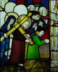 Fig. 5. Christ carrying the cross, St Kew. © Holy Well glass.