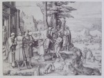 Fig. 1. Lucas van Leyden, The Return of the Prodigal Son, c.1510, engraving, The Baltimore Museum of Art: Garret Collection, BMA 1943.32.305.