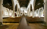 Fig. 2. The interior of St Mary's church, Hadleigh, today. © C. B. Newham