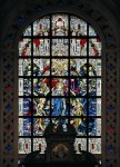 Fig. 4. Recent work from Hardman's: Coronation of Our Lady window for the San Marco Basilica, Moji, Japan. (Trader Al Shimonoseki).