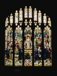 Fig. 3. Something rather different: the Cornaro window, Vassar College, New York. Designed by Dunstan Powell, 1906. It depicts the first bestowing of a Doctorate upon a woman, Elena Lucrezia Cornaro Piscopia, by the University of Padua in 1678. © Vassar College