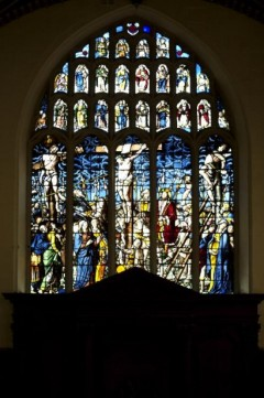 East window, Peterhouse College Chapel, Cambridge, c.1632. © Prof. Joost Caen.