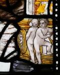 Fig. 5. Border detail, St Cadoc, Glynneath, formerly in Steinfeld Abbey