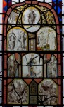 Fig. 7. Composite panel, Chapel of St Michael & St Mary, Llanarth © Michael Woodward
