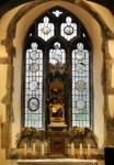Fig. 8. The east window, St Bridget's, St Bride-super-Ely