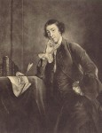 Fig. 1. Horace Walpole. Engraving by James McArdell after the portrait by Joshua Reynolds (1757)