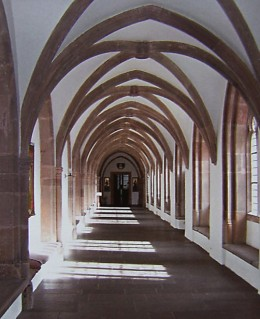 Fig. 1. A cloister at Steinfeld Abbey.