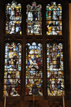 Fig. 2. Scenes of Christ's Passion from Steinfeld Abbey, Disley. © J Kidd.