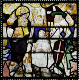 Fig. 4. Window I, Panel 2a, St Cadoc.