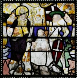 Fig. 4. Window I, Panel 2a, St Cadoc.