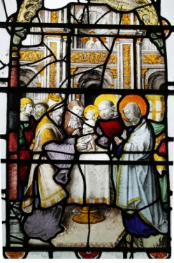 Fig. 8. The Circumcision of Christ, St Mary & St Michael, Llanarth