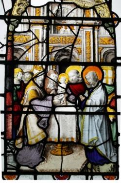 Fig. 8. The Circumcision of Christ, St Mary & St Michael, Llanarth