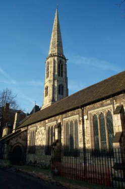 Fig. 1. Church of All Saints, North Street, York