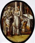 St Katherine debates idol worship with the emperor Maxentius