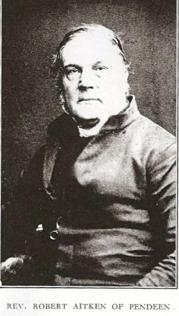Revd. Robert Aitken.