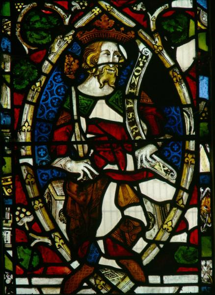 King Ozias, c. 1340–50, Tree of Jesse, Madley, Herefordshire. © Painton Cowen.