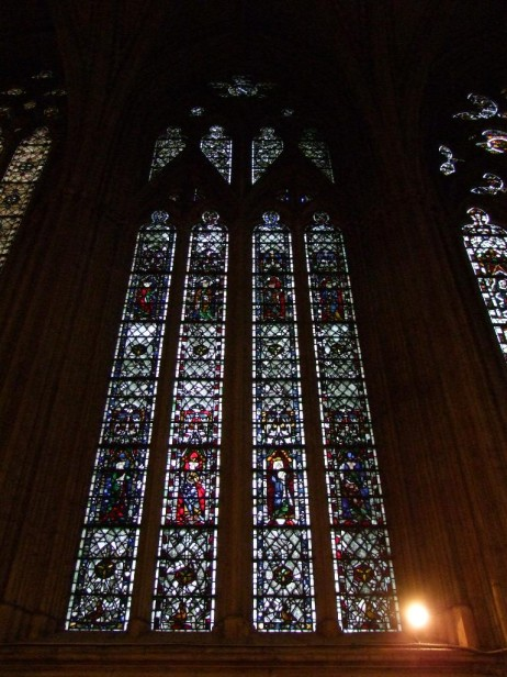 Window CHn8, chapter house vestibule, York Minster, c.1299–1306.
