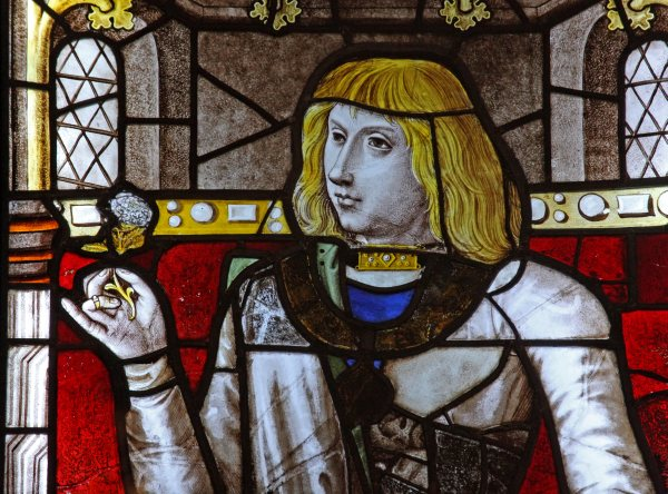 Philip le Bel, originally from the Chapel of the Holy Blood in Bruges, now in the V&A Museum, c.1496