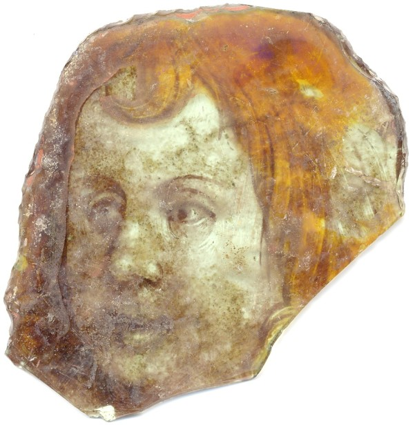15th-century face from Hyde Abbey. © Wessex Archaeology.