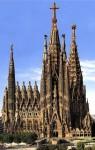 The Sagrada Família.