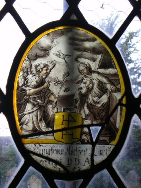Annunciation, St John the Baptist, Hatherleigh.