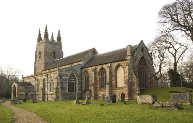 Exterior view of St Nicholas Parish Church, Stanford-on-Avon, Northamptonshire. © Gordon Plumb.