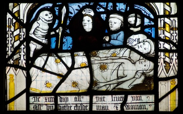 'Pricke of conscience' window. nIII, All Saints, North Street, York. © Gordon Plumb.