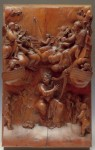 Boxwood relief carving by Grinling Gibbons (c1667).