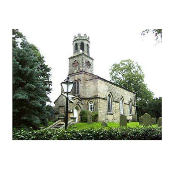 Fig. 4. The church of St Helen, Denton.