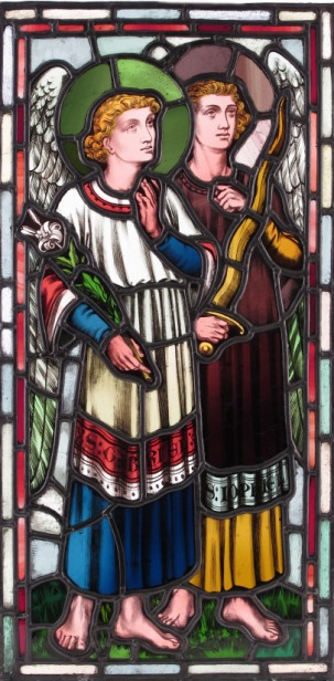 'The Archangel Gabriel and St Joseph'